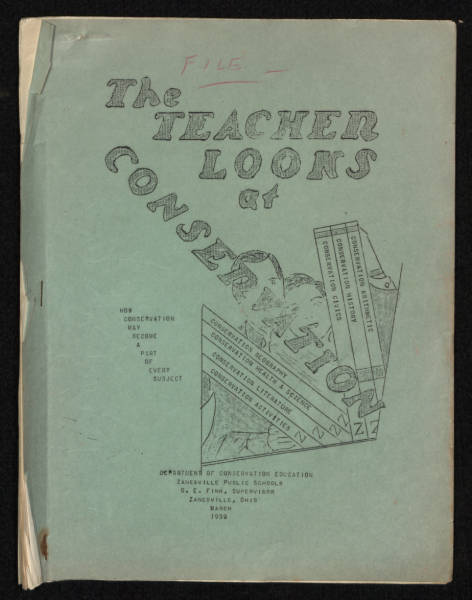 'The Teacher Looks at Conservation' booklet