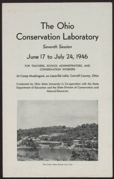 Ohio Conservation Laboratory brochure