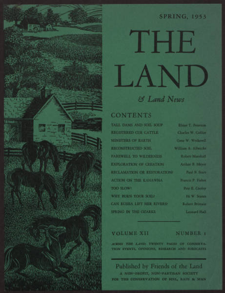 'THE LAND' magazine advertisement