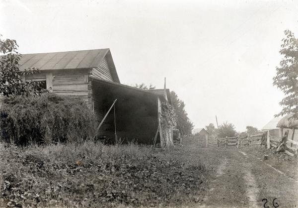Barn on Burlingame farm photograph