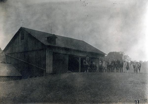 Barn on Kirk farm photograph