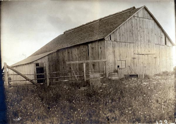 Barn on Lyon farm photograph