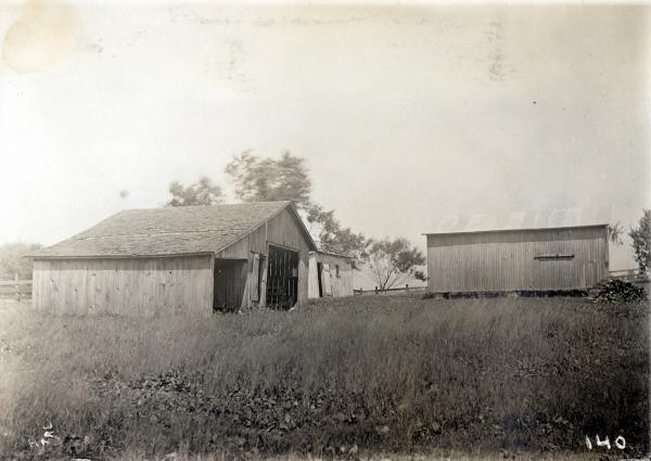 Outbuildings on Thomas farm photograph
