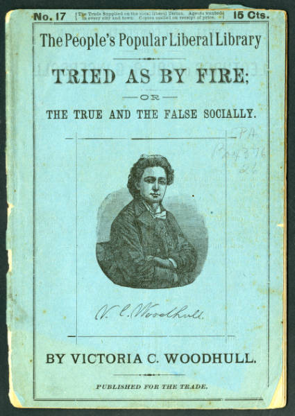 'Tried As By Fire; or The True and the False Socially' pamphlet