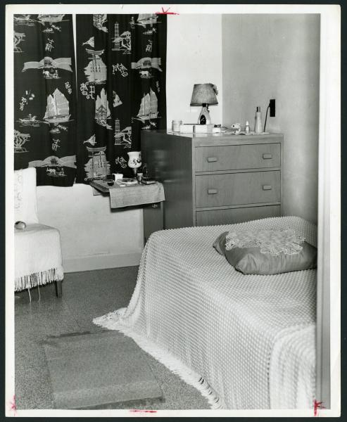 Inmate's room photograph