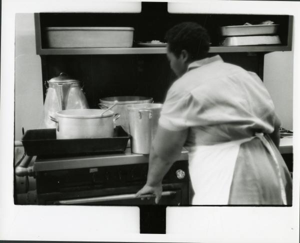 Inmate cooking photograph