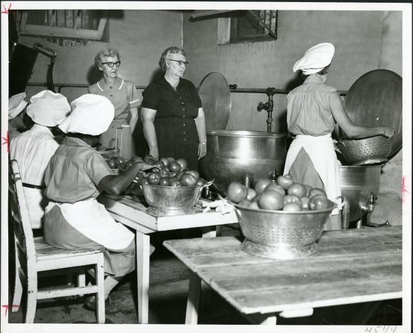 Ohio Reformatory for Women cannery photograph