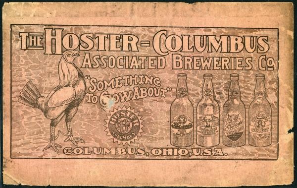 Hoster-Columbus Associated Breweries Company advertisement