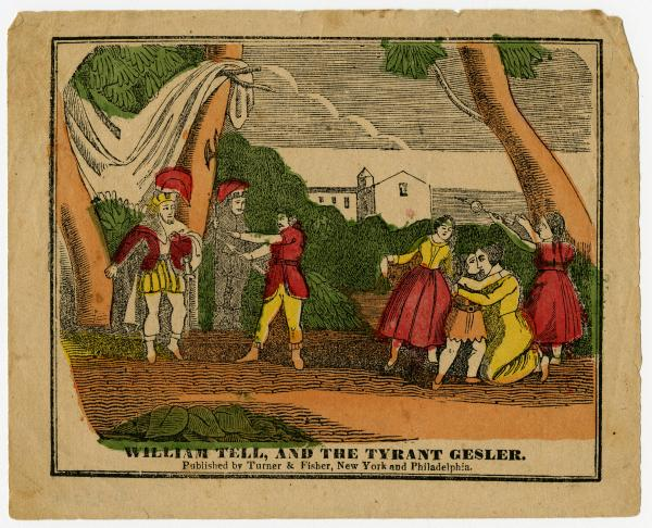 'William Tell, and the Tyrant Gesler' print