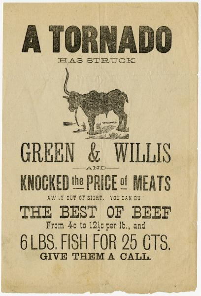 Green & Willis broadside