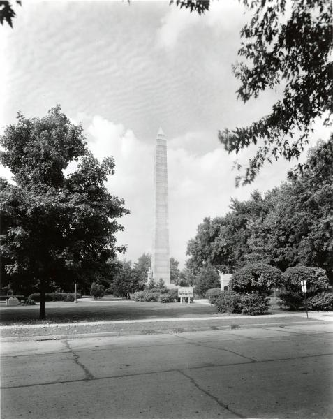 Fort Recovery Monument photograph