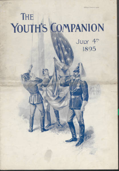 'Youth's Companion, July 4th, 1895' issue