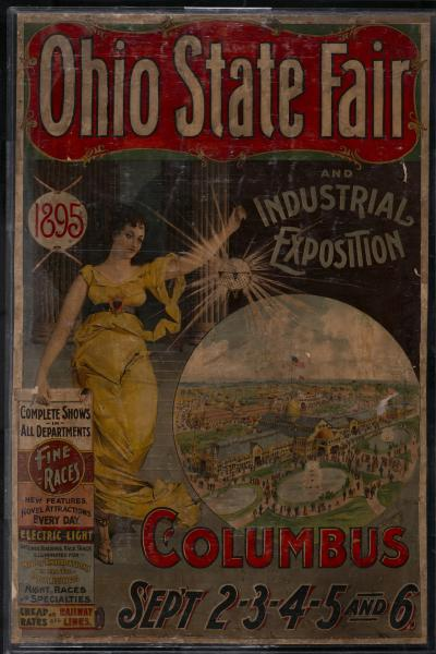 'Ohio State Fair and Industrial Exposition' poster