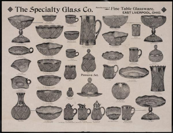 Specialty Glass Company advertisement