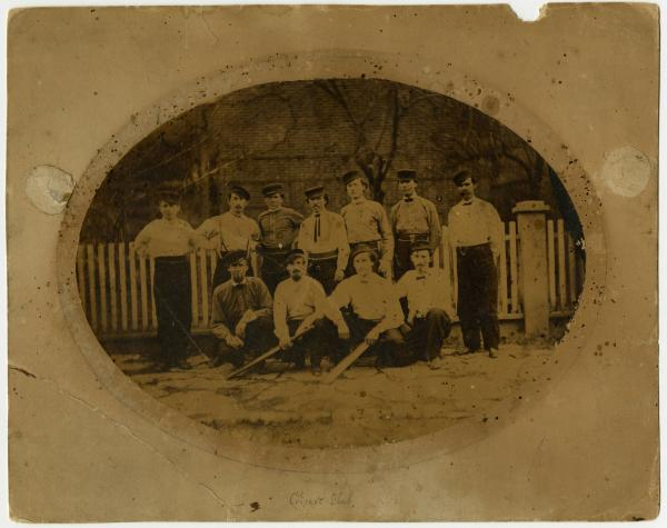 Cricket Club team photograph