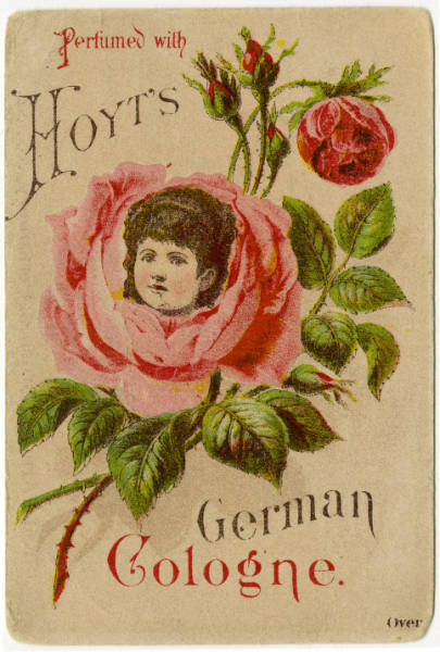 Hoyt's German Cologne trade card