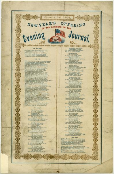 1862 New Year's greetings