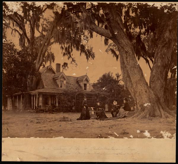 Winter residence of Harriet Beecher Stowe photograph