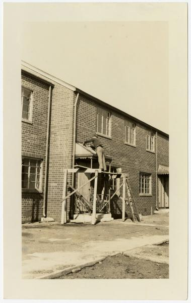 Poindexter Village construction photograph