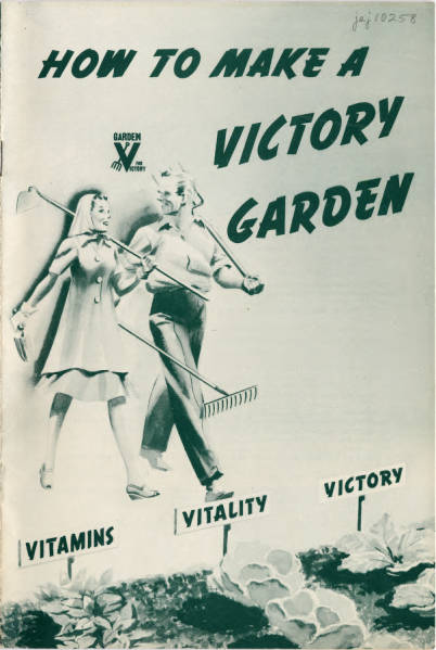 How to Make a Victory Garden Pamphlet