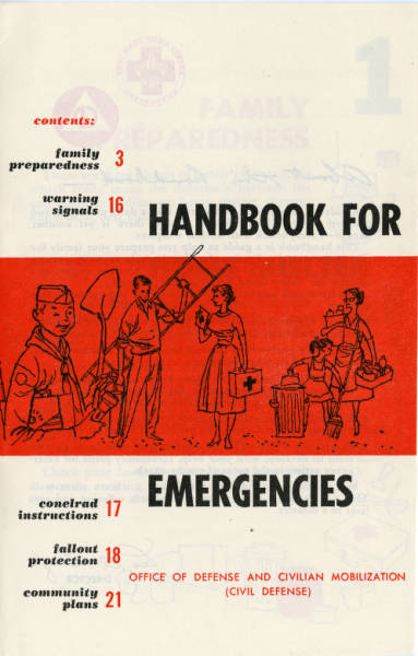 Handbook for Emergencies Pamphlet
