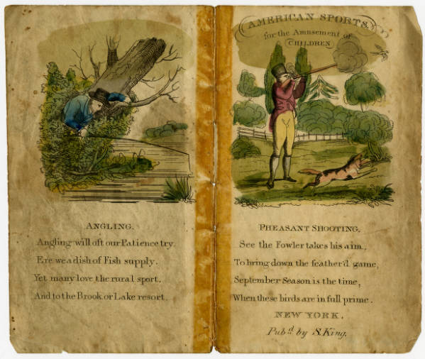 'American Sports for the Amusement of Children' book
