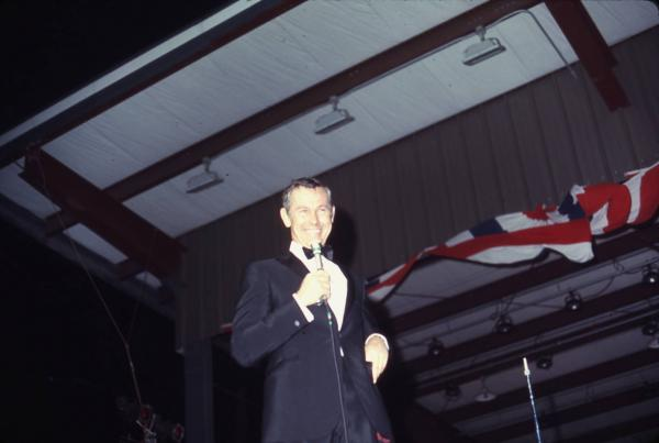 Johnny Carson at the Ohio State Fair photographs