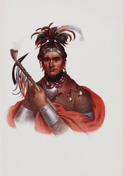 Chief Cornplanter portrait