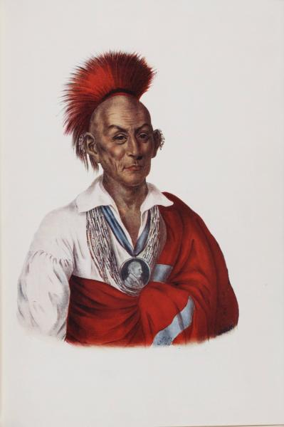 Chief Black Hawk portrait