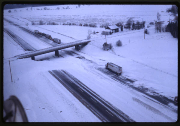 Ohio Turnpike during 1978 Blizzard