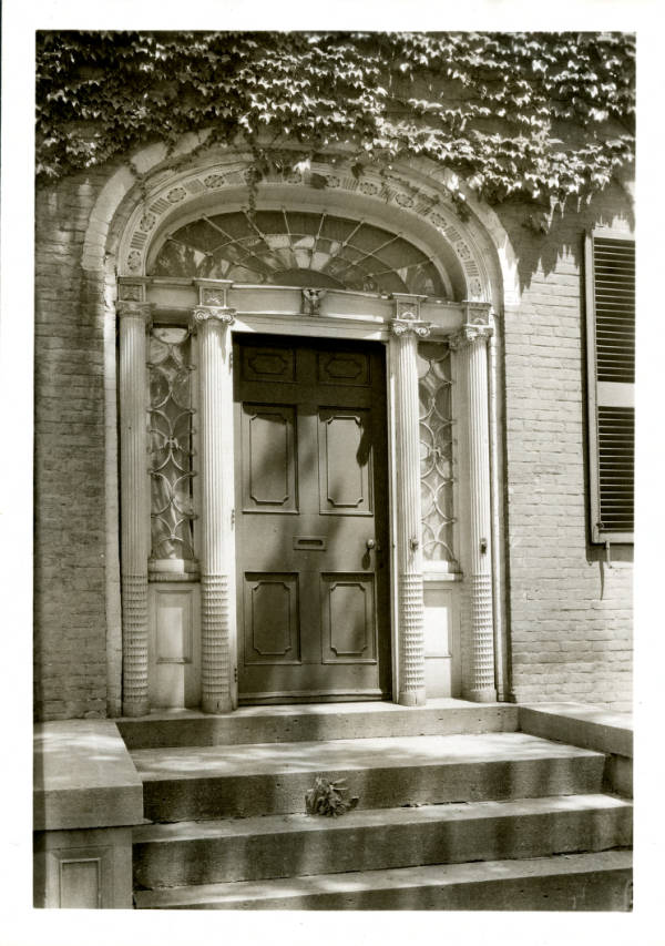 Cary House doorway photograph