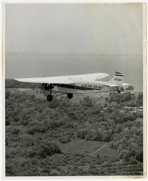 Island Airlines Ford Tri-motor in flight
