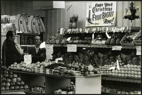 Cappy Brothers fruit market photograph