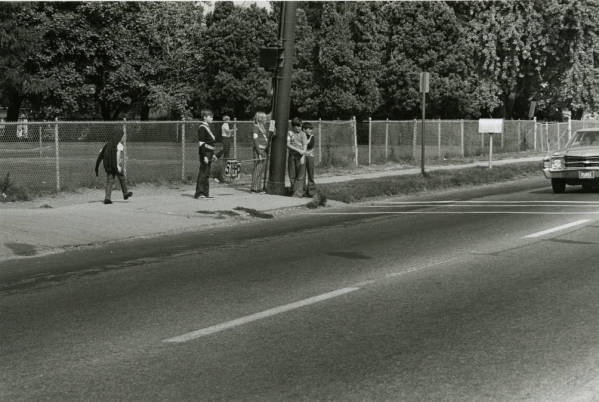 Student crossing guards photograph