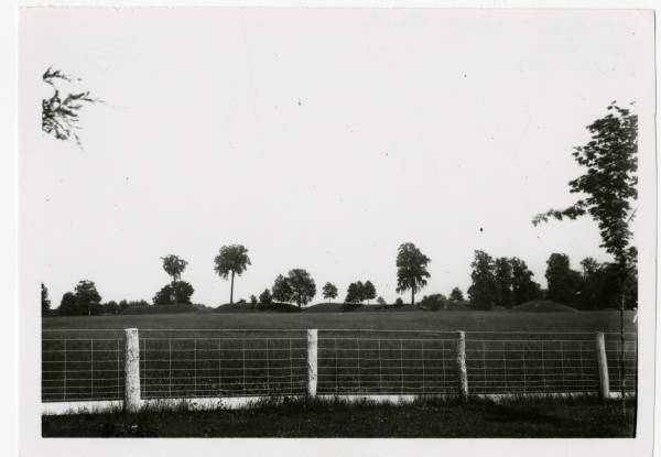 East Wall at Fort Ancient photograph