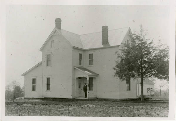 New house at Fort Ancient