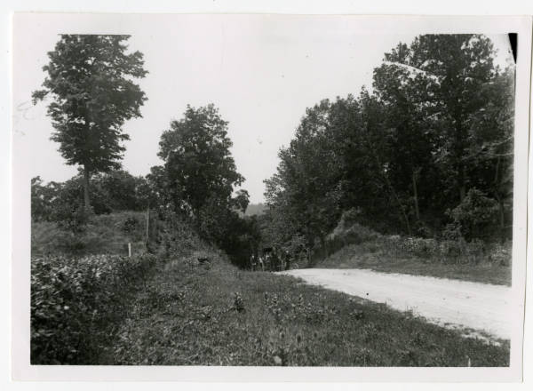 Fort Ancient roadway photograph