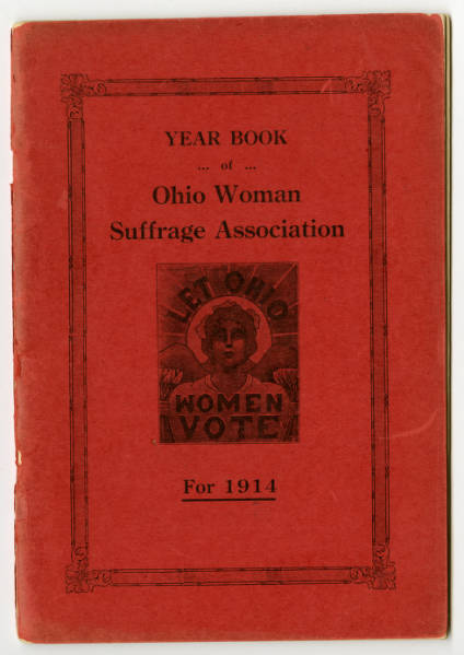 Ohio Woman Suffrage Association 1914 yearbook