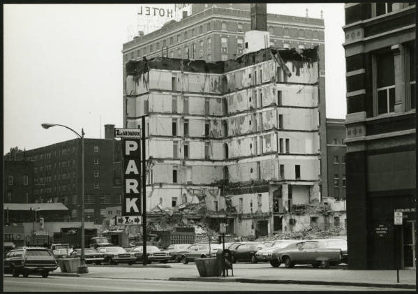 Chittenden Hotel demolition
