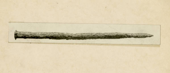 Hopewell copper punch photograph