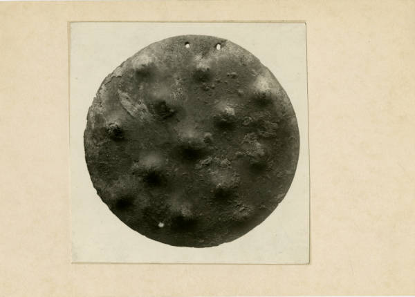 Hopewell copper gorget photograph