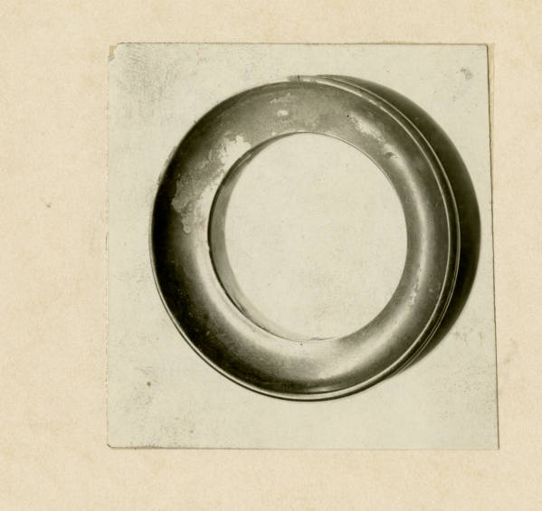 Hopewell chlorite ring photograph