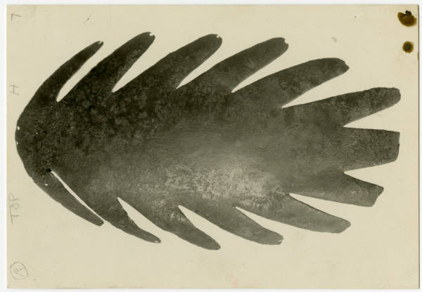Hopewell Mound Group copper headdress photograph