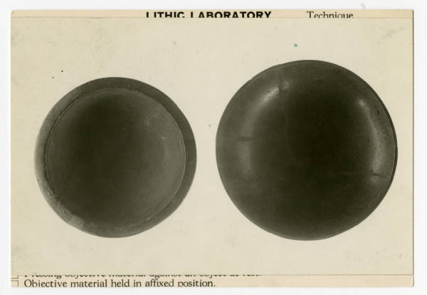 Hopewell stone dishes photograph