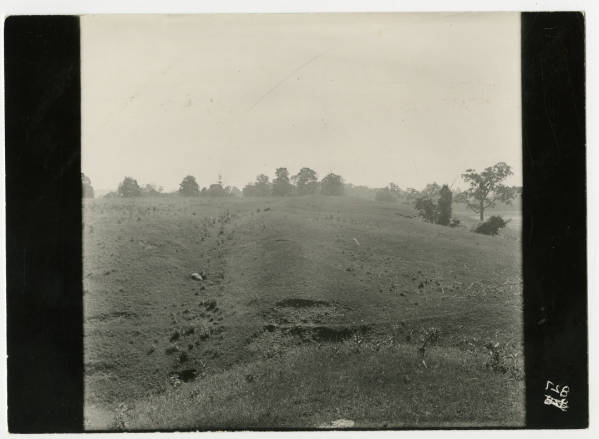 Hopewell Mound Group excavation photograph