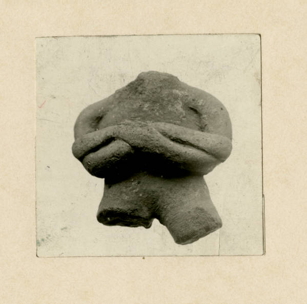 Hopewell stone artifact photograph