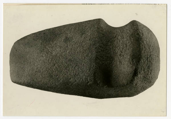 Hopewell grooved axe photograph