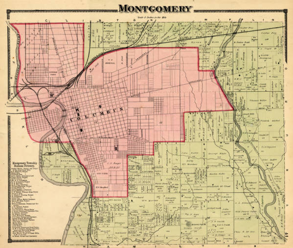 Montgomery Township map