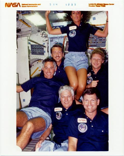 Judith Resnik and Discovery Crew photographs