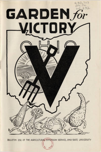 Garden for Victory Pamphlet